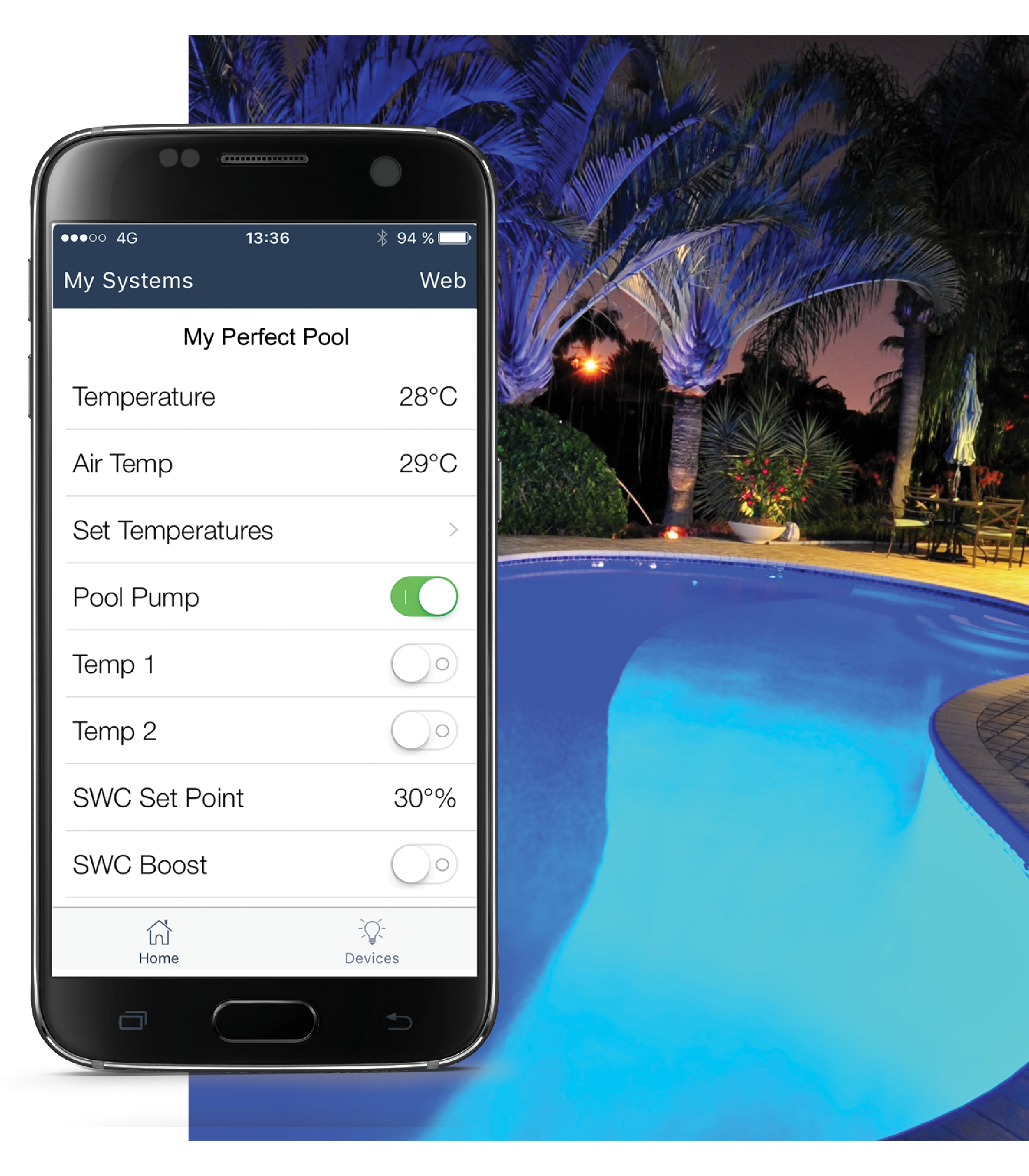 Zodiac Pool Care Europe iaqualink pool automation   swimming pool automation